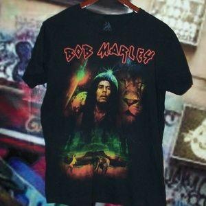 (3/$15) Bob Marley T-shirt by Zion Rootswear